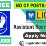 LIC Assistant Recruitment 2019