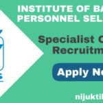 IBPS Specialist Officer Recruitment 2019