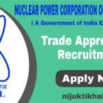 NPCIL Trade Apprentices Recruitment 2020