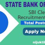 SBI Clerk Recruitment 2020